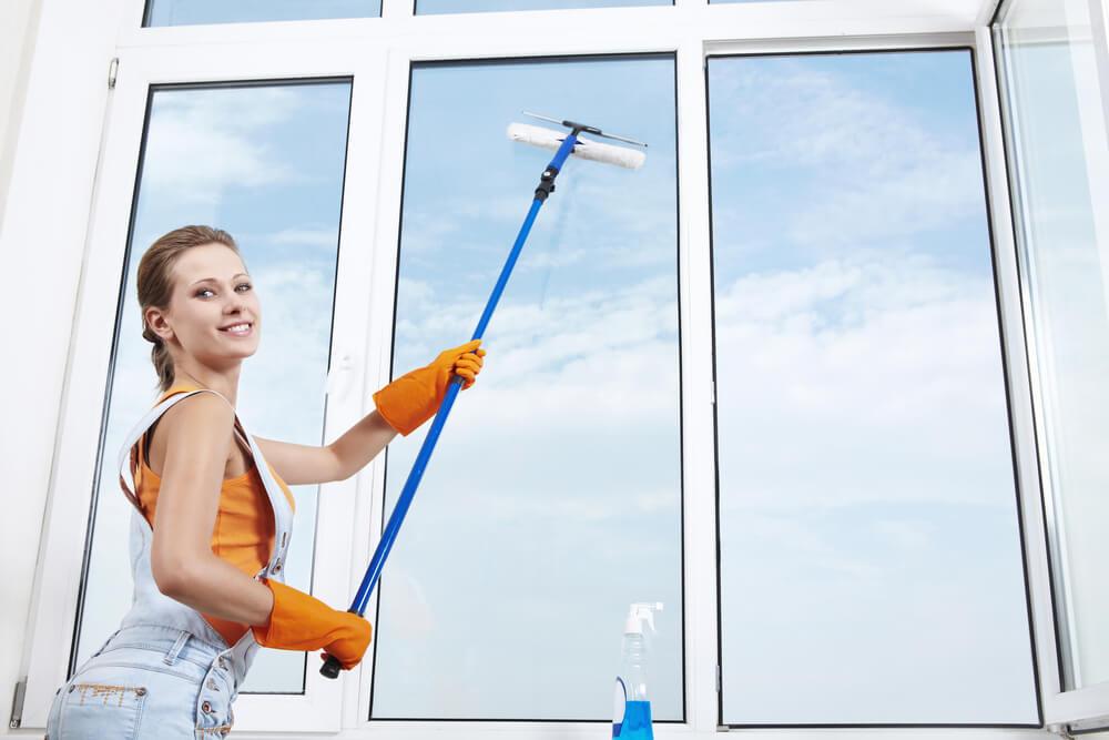 lavage de vitres à domicile